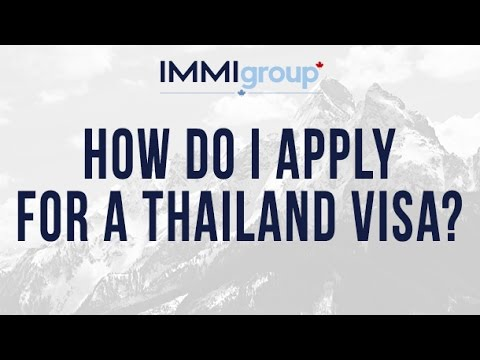 How do I apply for a Thailand visa?
