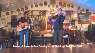 James Hickman & Dan Cassidy at the Uxbridge Folk Club playing the Tiger Rag.wmv