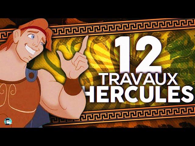 Hercule/Héraclès : ses douze travaux et sa mort peu enviable