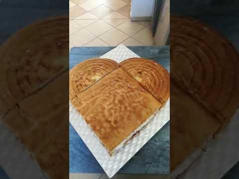 Вопрос: Как сделать торт в форме сердца?