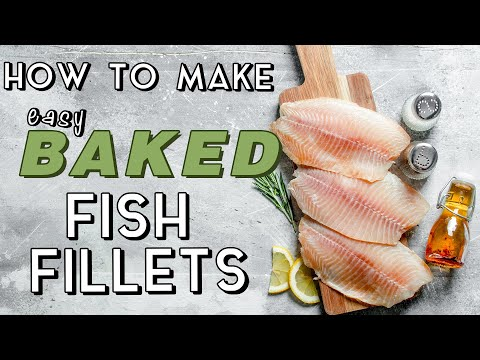 How to make easy baked fish fillets myrecipes youtube for How to bake fish fillet