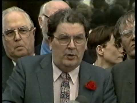 RTÉ News special on outcome of Good Friday Agreement Talks Stormont 1998