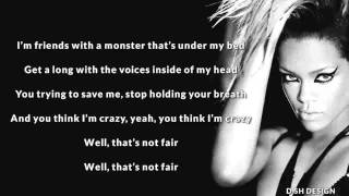 Monster - (Good Instrumental Karaoke with Lyric) Eminem