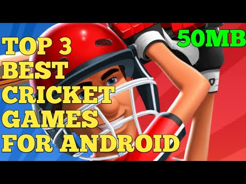 (50mb) TOP Cricket Games For Android / Best Cricket Games