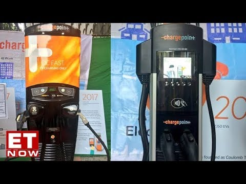 Electric Vehicle Chargers Unveiled By Nitin Gadkari