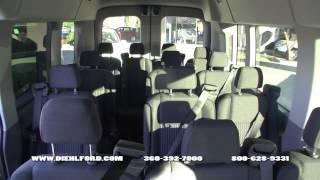 2015 Ford Transit Passenger Van Walk Around with Mike Diehl at Diehl Ford