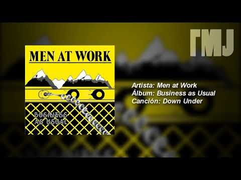 Letra Traducida Down Under De Men At Work