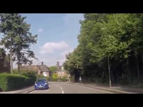 Driving in London - St John's Wood to Temple Fortune Lane