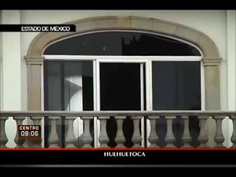 Pobladores de Huehuetoca queman el Palacio Municipal