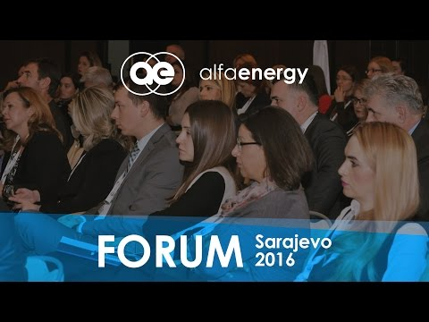 Alfa Energy Group - Business Electricity Forum 2016, Sarajev
