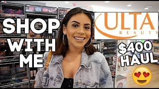 COME SHOP WITH ME AT ULTA BEAUTY: NEW AFFORDABLE + HIGH END MAKEUP! | JuicyJas