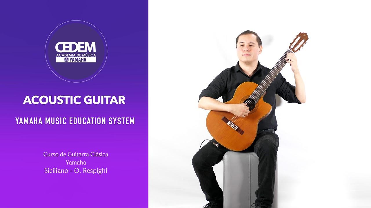Curso Guitarra Acústica CEDEM Yamaha Music Education System