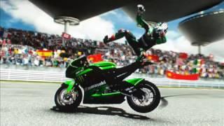 Moto Gp 08 crashes,and gone bads. LOL funny