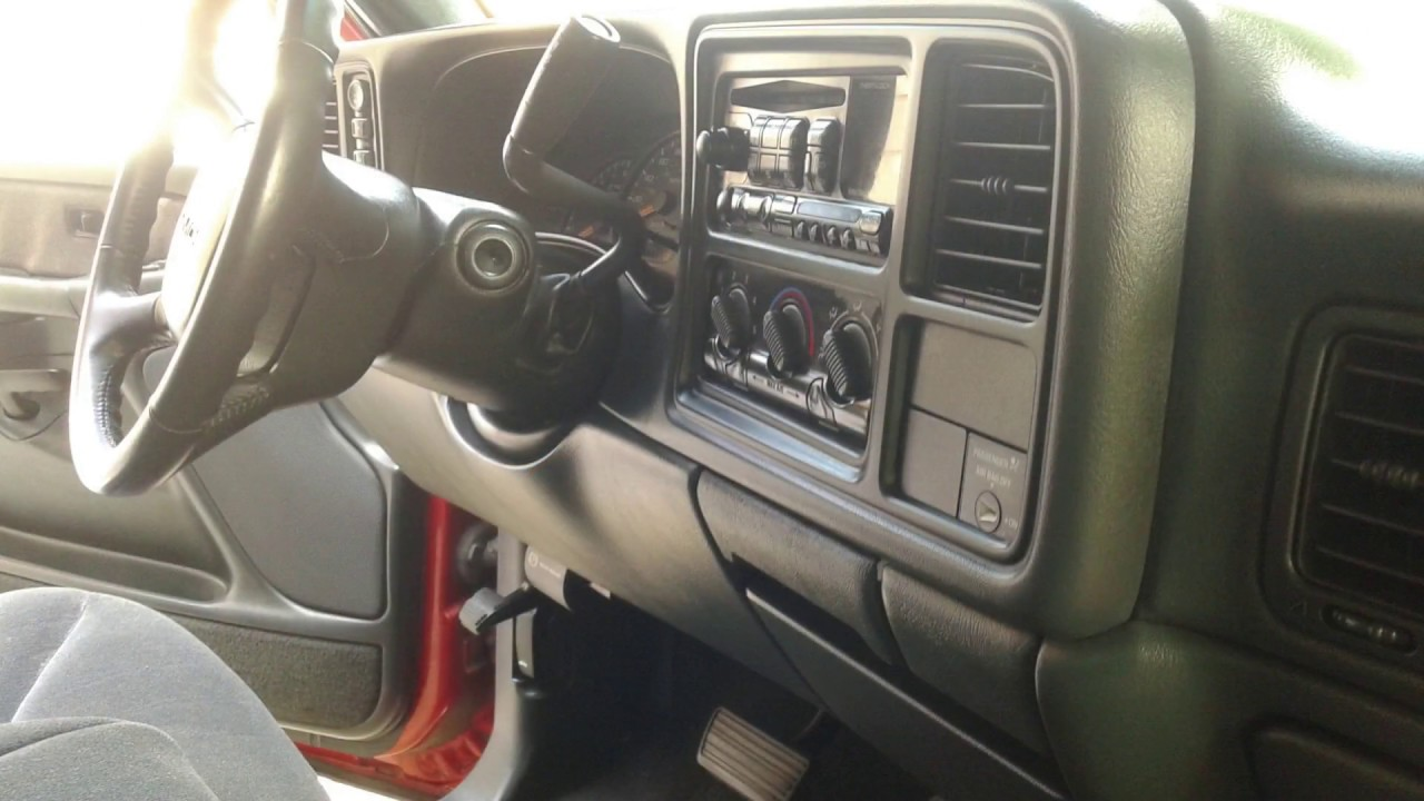 interior detail on a 16 year old work truck 2001 gmc sierra interior detailing steps youtube. Black Bedroom Furniture Sets. Home Design Ideas