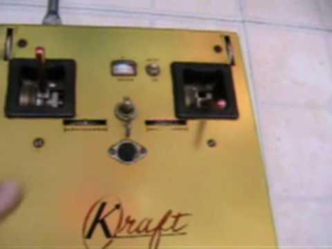 Antique Kraft R/C Radio was Phil Kraft's Plus a few of mine.