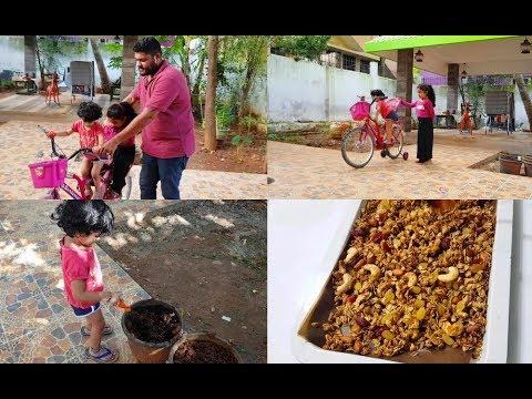recording-mahi's-activity---homemade-granola-(muesli)---yummy-tummy-vlog