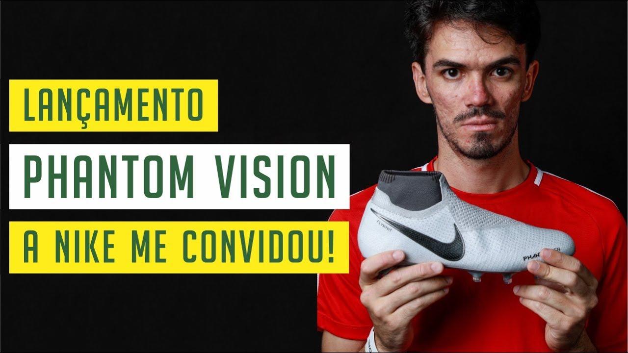 LANÇAMENTO DA CHUTEIRA NIKE PHANTOM VISION! - A NOVA CHUTEIRA DO ... 444795871e0ff