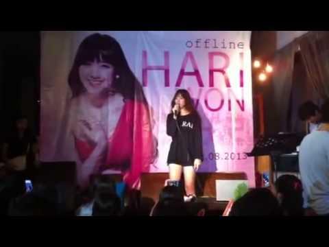 Hari Won Kute Hát Live CƠN MƯA DĨ VÃNG - Mỹ Tâm !!!