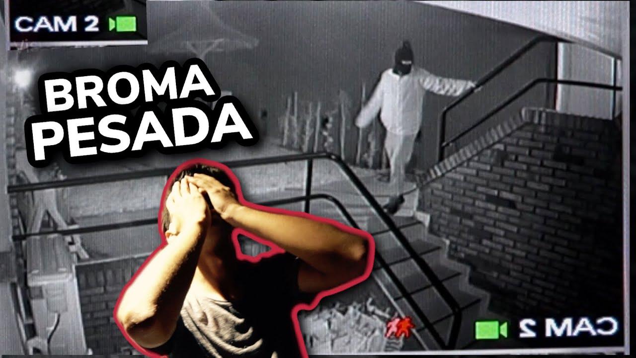 QUIEREN ENTRAR A LA CASA *BROMA PESADA* | HALLOWEEN