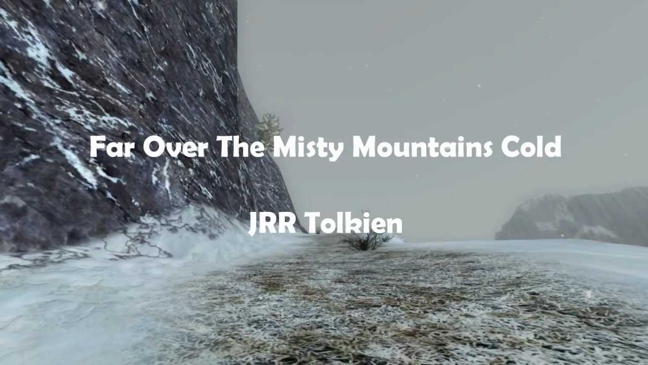 The Making of Far Over the Misty Mountains Cold - Lina's