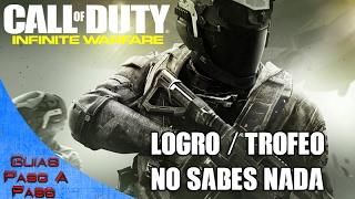 Video de Call of Duty: Infinite Warfare | Logro / Trofeo: No sabes nada