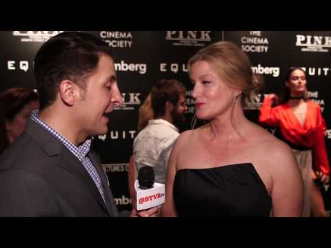 "Anna Gunn at the ""Equity"" NY Premiere Behind The Velvet Rope with Arthur Kade"