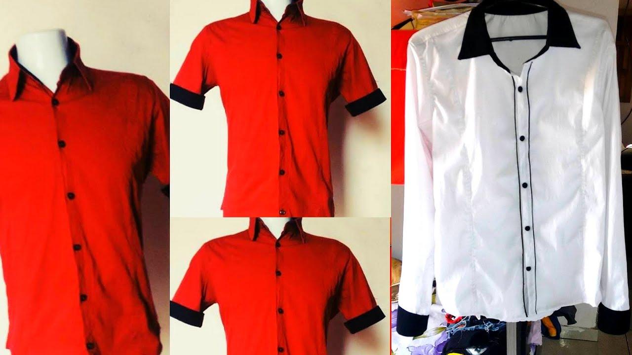 Aprenda passo-a-passo  modelagem rápida de camisa social slim fit - YouTube ef4e71c07bff6