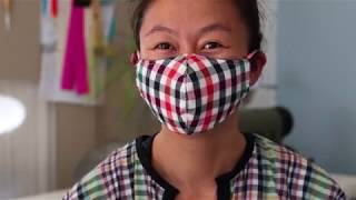 Hi! in this video i'll show you how to make a personal custom dust mask. all music licensed from epidemic sound.