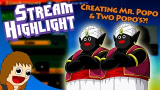 Creating Mr. Popo in Dragon Ball Xenoverse & Another Popo?! (Stream Highlight)