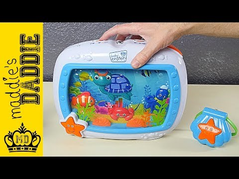 Baby Einstein Sea Dreams Soother Crib Toy Review