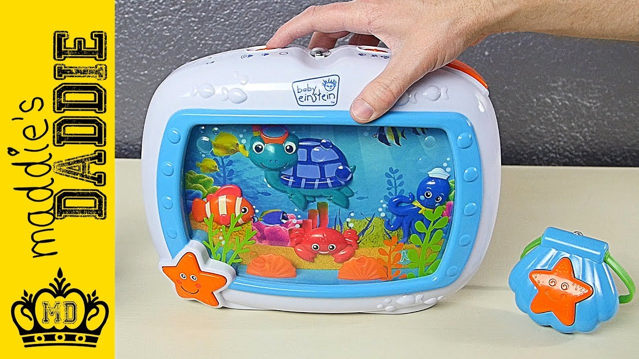 Baby Einstein Sea Dreams Soother Crib Toy Review Youtube