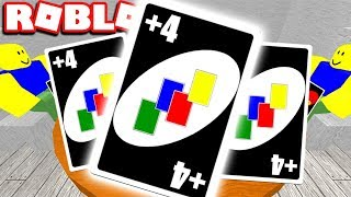 ROBLOX UNO GAMEPLAY! GETTING THE +4 DRAW CARD (PLAYING WITH FANS)