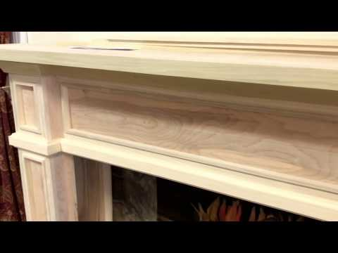 The Tampa Mantel (Cabinet Style Fireplace Mantel)
