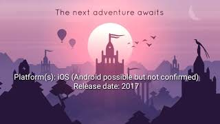 5 android games & iOS  release dates