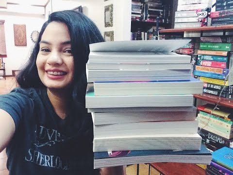 MANILA INTERNATIONAL BOOK FAIR 2016 HAUL!!!!