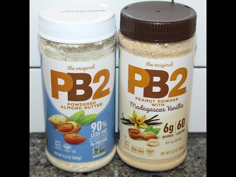 PB2 Powdered Almond Butter & Peanut Powder with Madagascar Vanilla Review
