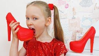 Лиза и папа - история для детей про вредные сладости