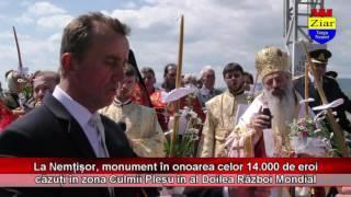 S-a îndeplinit dorința părintelui Iustin Pârvu: monumentul eroilor la Nemțisor