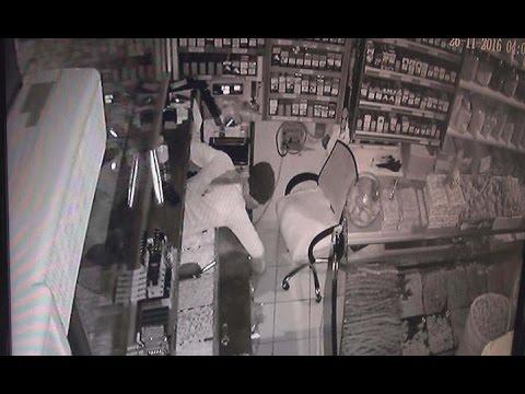Adıyaman'da Hırsızlık Anı Güvenlik Kamerasına Yansıdı