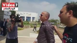 وائل جمعة أول الحاضرين بانتخابات اتحاد الكرة