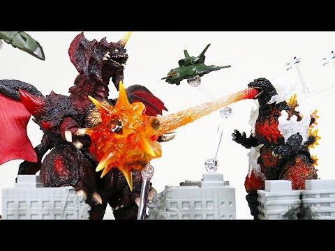 【ゴジラ】モンスターアーツを100倍楽しむ商品【スーパーX3】東宝特撮超兵器 S.H.MonsterArts ジオラマ