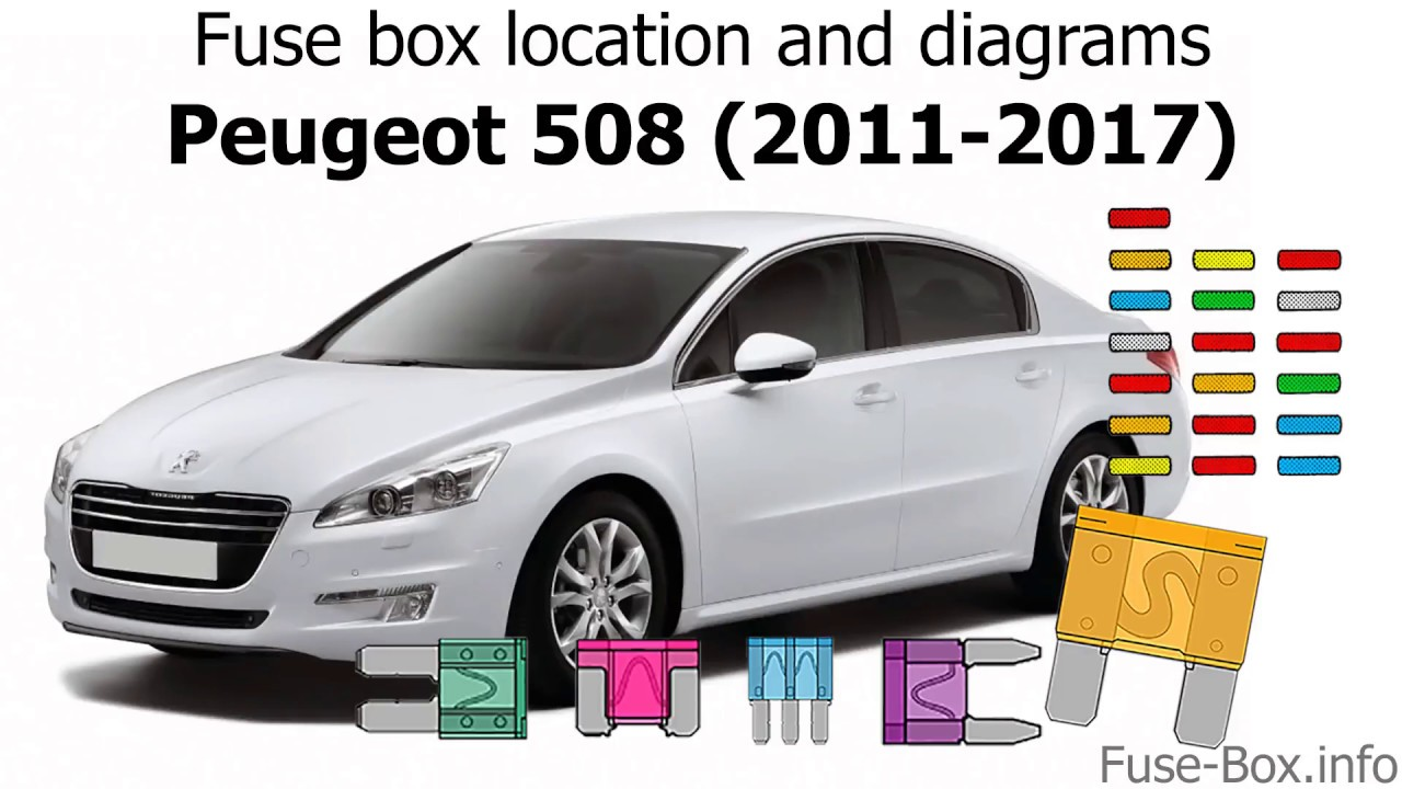 fuse box location and diagrams peugeot 508 2011 2017 youtubefuse box location and diagrams [ 1280 x 720 Pixel ]