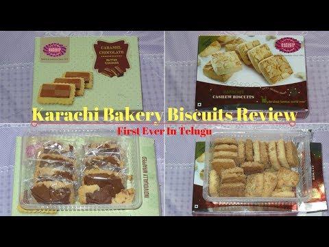 Karachi Bakery Biscuits Review In Telugu || Unboxing Karachi Biscuits || Priya's Kitchen