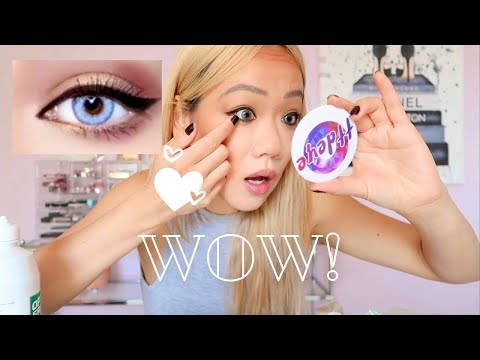 Colored Contacts For Dark Eyes Featuring Ttdeye Colored Contact Lenses Youtube