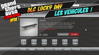 DLC Lucky Day : Les Véhicules ! Zentorno GTR - Adder GrandSport - Skate .. | Suggestion