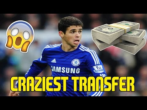 CRAZIEST TRANSFER OF 2017 - £60 MILLION OSCAR TO CHINA - CHELSEA GETTING BIG MONEY! - MY REACTION