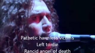 Slayer-Angel of death video lyrics