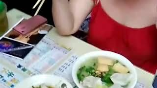 Еда в Гонконге. Китайские пельмени.