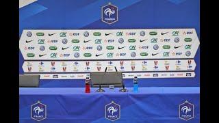 Suivez la conférence de presse avec N'Golo Kanté et Lucas Hernandez
