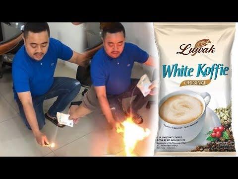 Viral Video Bubuk Luwak White Koffie Bisa Terbakar Dan Dituding Kandung Mesiu, BPOM Beri Pernyataan